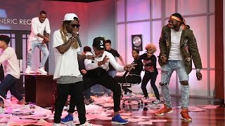 Chance the Rapper Performs 'No Problem' with Lil Wayne and 2 Chainz!