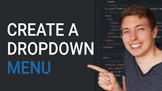 How To Create An Html Dropdown Menu | Learn Html And Css | Html Tutorial | Html For Beginners