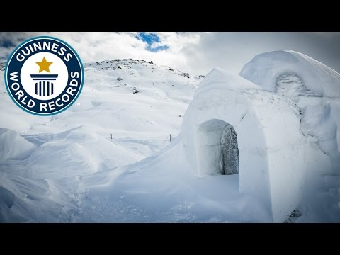 Largest Dome Igloo - Guinness World Records