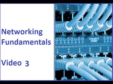 Networking Fundamentals 3