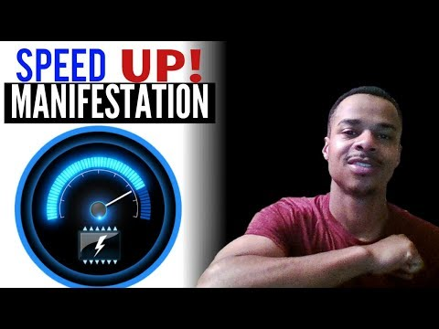 How To Instantly SPEED UP MANIFESTATION TIME! | LAW OF ATTRACTION