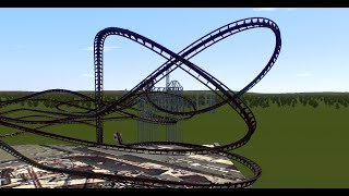 Twisted Cyclone Re-Creation (Rocky Mountain Construction I