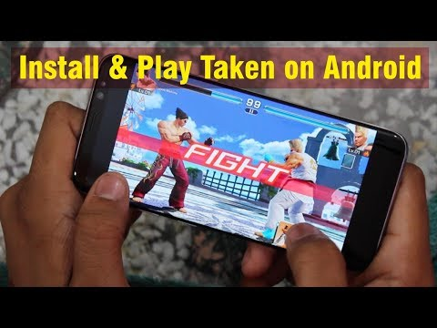 How to Install And Play Taken Game on any android🤓