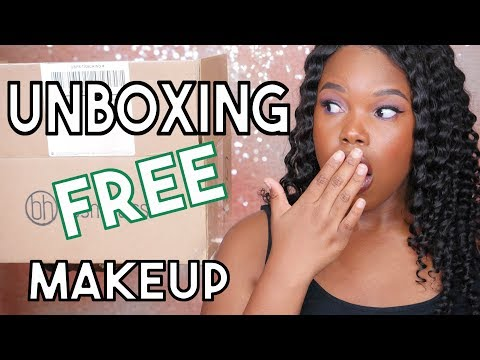 FREE STUFF BEAUTY GURUS GET | BH COSMETICS PR UNBOXING 2017