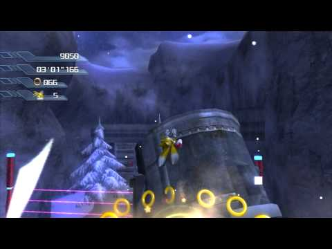 Sonic the Hedgehog (PS3) Sonic Act 3 White Acropolis Very Hard Mode S-Rank