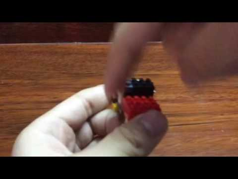 How to make a scope for your Nerf Gun using Nano Blocks