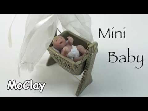 Diy miniature baby tutorial
