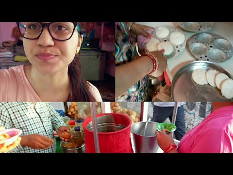 Feeling Better !! Mummy Making South Indian Food Idli at Home