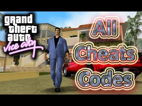 Game Codes- GTA Vice City All Cheat Codes with their Effects