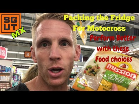 I get Thrown out of Sainsbury's when Shopping for Motocross Camper food