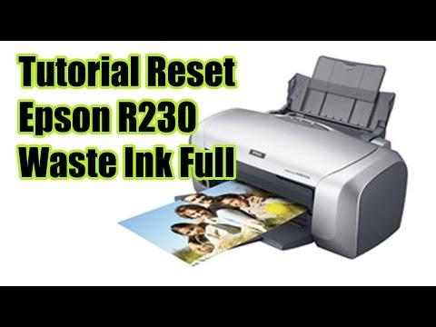 Cara Mereset Printer EPSON R230 Terbaru