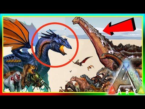 ARK Dinosaur Size Comparisons! UPDATE! (ARK: Survival Evolved Dino