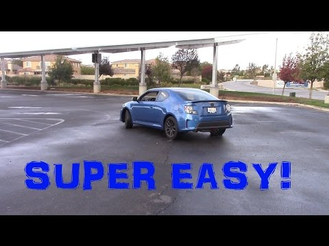Easy Way To Drift A Front Wheel Drive Car