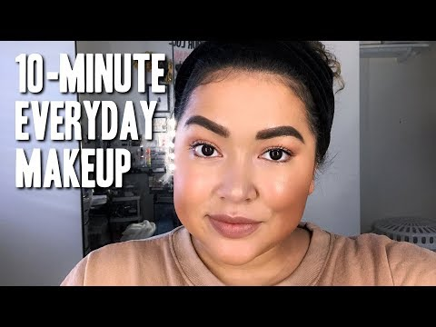 10-min Everyday Makeup    The Savvy Beauty