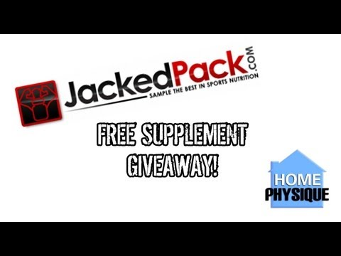 GratiTUESDAY | JackedPack Giveaway | Free Supplements