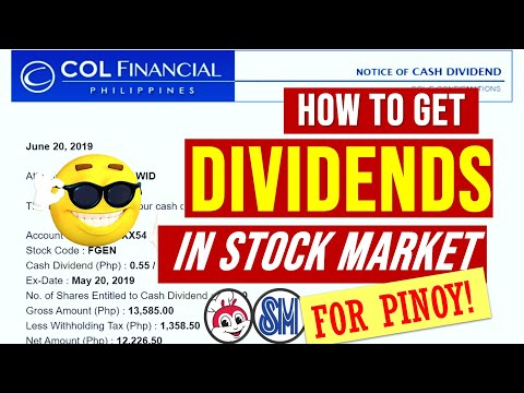 How to earn and get dividends in Investing in Philippine Stock Market