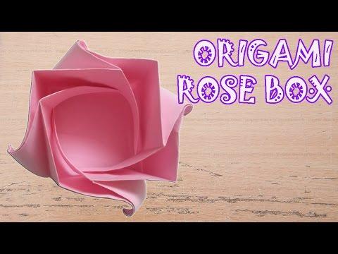 Origami Rose Box Instructions - Origami Easy