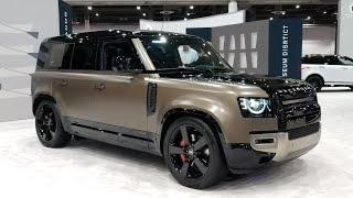 Land Rover Defender 110 walkaround at Houston Auto Show
