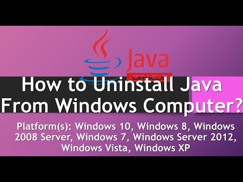 How to Uninstall Java From Windows Computer? Tutorial Steps