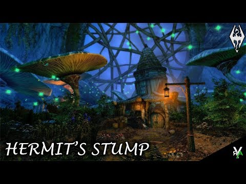 HERMIT'S STUMP: Unique Player Home!!- Xbox Modded Skyrim Mod Showcases