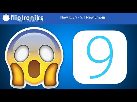 IOS 9 - 9.1 New Emojis On Iphone 6s - Fliptroniks.com