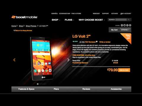 Boost Mobile LG Volt 2 Prepaid Phone Deal on Amazon
