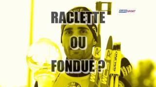 Messi ou Ronaldo ? Raclette ou fondue ? L'interview dilemme de Martin Fourcade