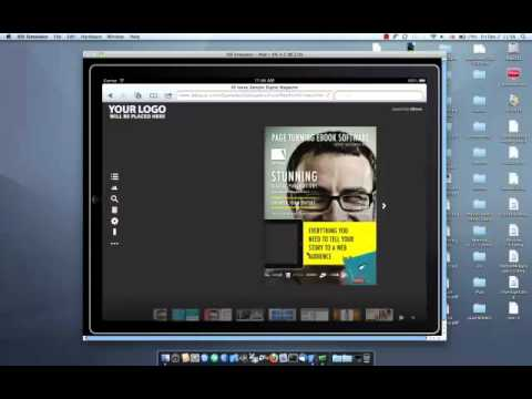 Turn your HTML5 magazines into iPad apps with 3D Issue