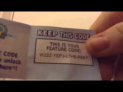 Giving away webkinz codes