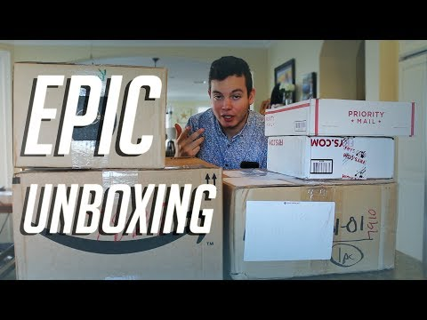 MASSIVE PC Hardware Unboxing! (GPUs, Cases, and more...)