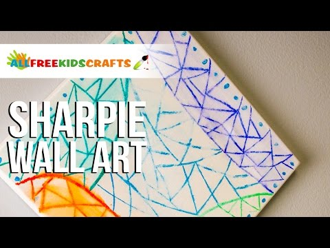 Sharpie Wall Art