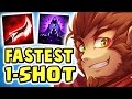 watch THE FASTEST 1-SHOT EVER !! I WILL REMEMBER THIS | BROKEN MAX LETHALITY WUKONG JUNGLE - Nightblue3