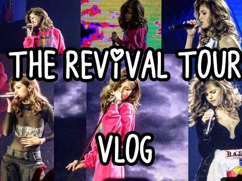 The Selena Gomez Revival Tour (Manila) Vlog  || View from the VIP Mosh PIT