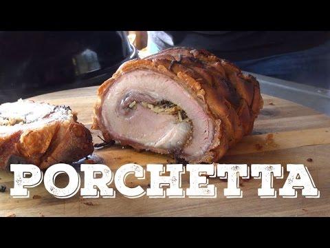 Porchetta Pork Roast Recipe on the Traeger Pellet Grill
