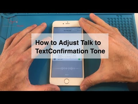 How to Adjust the iPhone's Talk to Text Confirmation Tone Volume
