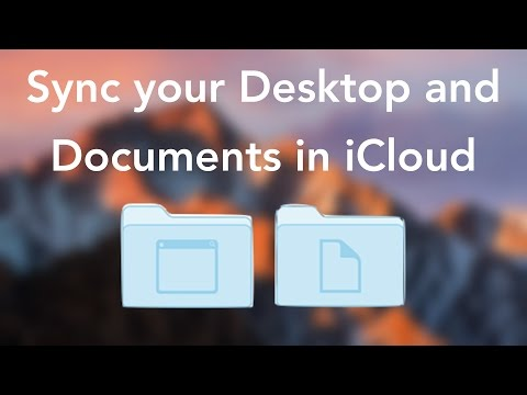 Sync your Mac's Desktop and Documents in iCloud
