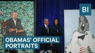 The Smithsonian Reveals The Obamas