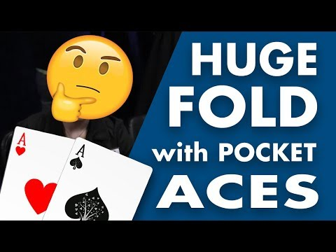 Alec Torelli Makes HUGE Fold with POCKET ACES on Poker Night in America