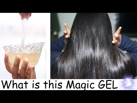 Make 1 ingredient easy Gel for Silky Shiny hair & Glowy skin | Kareena Malik
