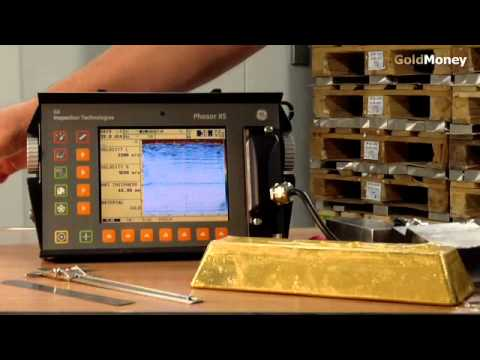 Fake Gold Bars - How to detect them using ultrasound testing