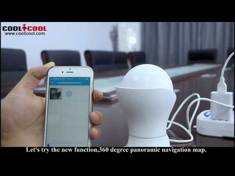 Operation of EC39 wireless ip camera 1080P