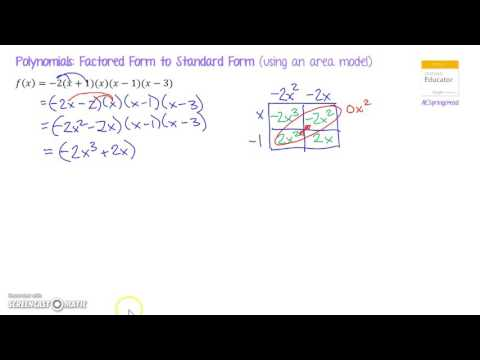 Polynomials: Factored Form to Standard Form