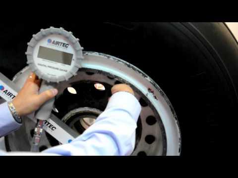 Airtec 89DPG (Digital Pressure Gauge) In Use