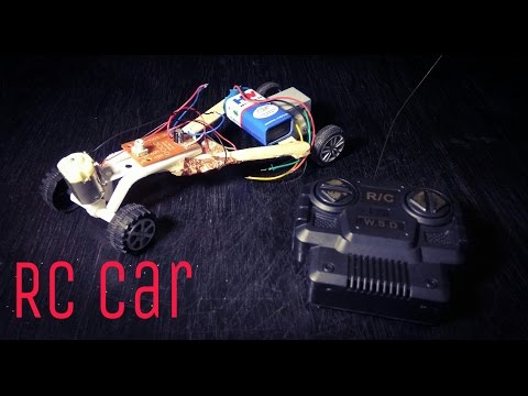 Make RC car - How To Make A RC Car At Home