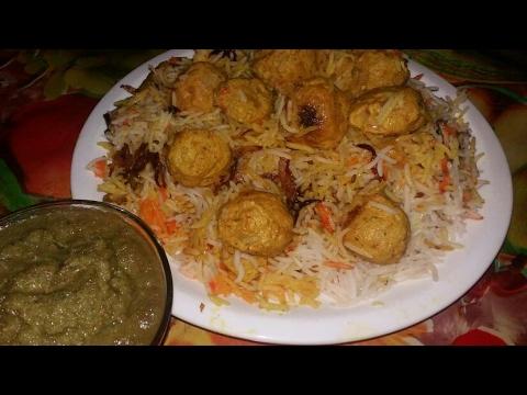 Ramzan special chicken kofta biryani recipe | recipe in hindi