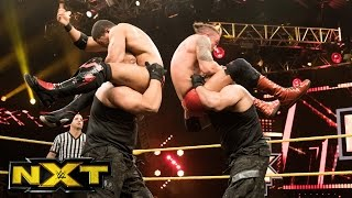 The Authors of Pain vs. John Ortagun & Anthony Bowens: WWE NXT, Dec. 21, 2016