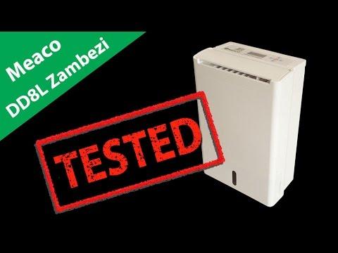 Meaco DD8L Zambezi Desiccant Dehumidifier Review