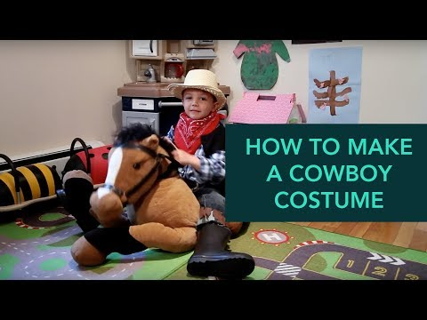 How to Make a Cowboy Costume - Easy DIY Halloween | Care.com