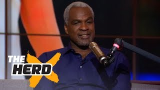 Charles Oakley on Michael Jordan vs LeBron James, BIG3, James Dolan | THE HERD (FULL INTERVIEW)
