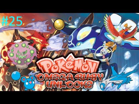 Let's Play Pokemon Omega Ruby Unlocke:  Part 25 - The Spirit Of The Rainbow Sea
